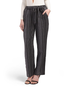 Juniors Stripe Pants