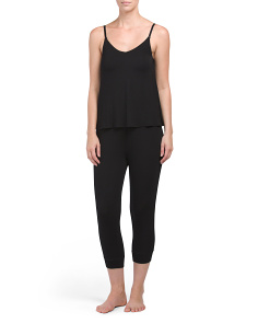 Lounge Tank With Jogger Set