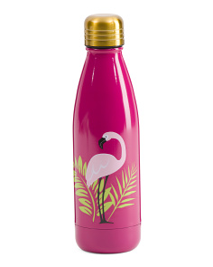 17oz Stainless Steel Flamingo Water Bottle