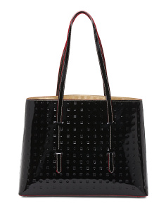 Made In Italy Patent Leather Tote