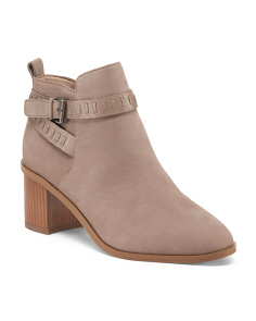 Claudia Leather Booties