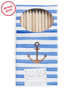24pk Anchor Colored Pencil Set
