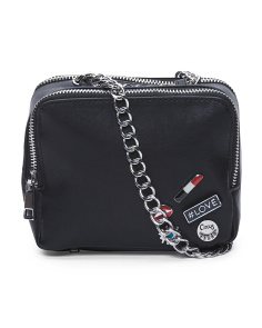 Cash Chain Strap Crossbody