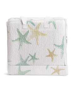 Painted Starfish Quilt Set