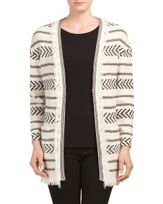 Made In Usa Wool Blend Cardigan