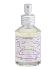 Sprayable Lavender Body Oil