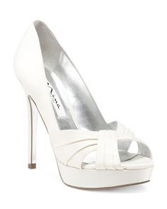 Milan Occasion Satin Pumps