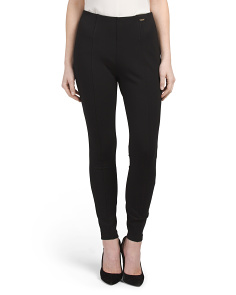 Pull On Compression Ponte Leggings