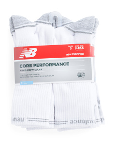 5pk Core Performance Crew Socks