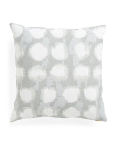 20x20 Grey Dots Pillow