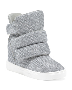High Top Sweater Sneakers