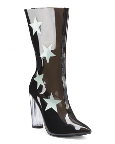 Star Lucite Booties