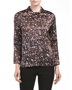 Audrey Long Sleeve Silk Top