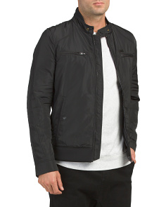 Jeffir R Giacca Pieced Moto Jacket