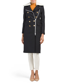 Made In USA Sullivan Wool Blend Coat