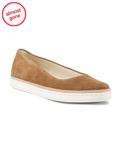 Suede Slip On Comfort Sneakers