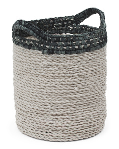 Small Raffia Storage Basket