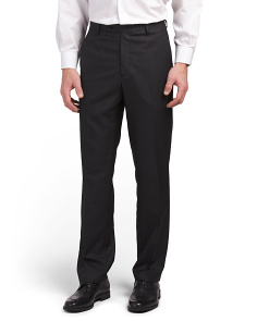 Luxe Modern Fit Solid Trousers