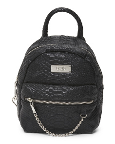 Main St. Backpack With Chain