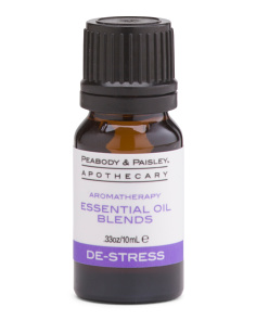 10ml De-Stress Aromatherapy Oil Blend