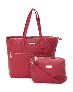 Beverly Drive Tote With Zipper