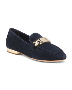 Hola Smoking Suede Loafers