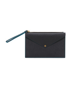 Metropolis Slim Large Leather Pouch