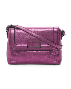 Abbott & Blaze Shine Leather Crossbody