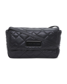 Julie Quilted Leather Crossbody