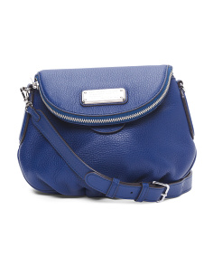 Leather New Q Mini Natasha Crossbody