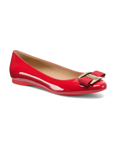 Made In Italy Ballerina Patent Leather Flats