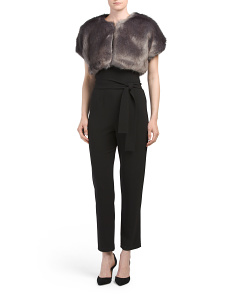 Donnelly Faux Fur Shawl
