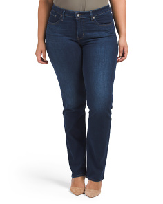 Plus 314 Shaping Straight Jeans