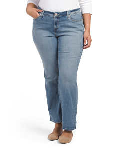 Plus 580 Defined Bootcut Jeans