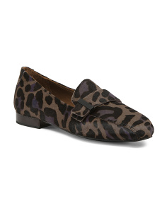 Step In Haircalf Loafers