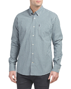 Country Gingham Woven Shirt