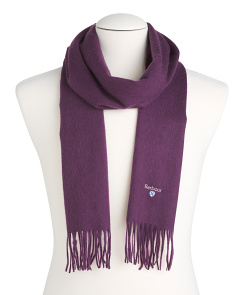 Men's Lambswool Thistle Scarf