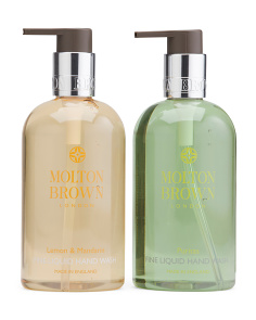 Lemon & Mandarin & Puritas Fine Liquid Hand Wash Set