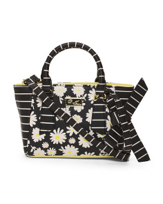 Mini Floral Satchel