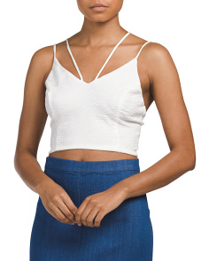 Juniors Cami Crop Top