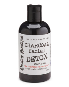 8oz Charcoal Detox Facial Wash