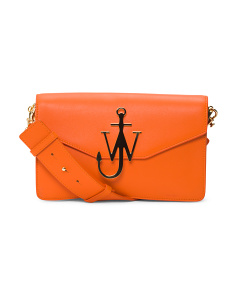 Logo Leather Purse