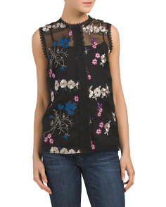 Laureen Embroidered Blouse