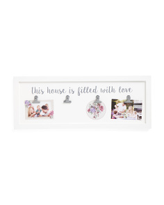 10x27 Wall Clip Photo Display