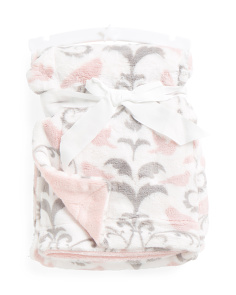 Kids Emmet Birds Plush Fleece Throw