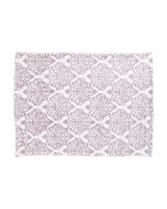 Kids Samantha Damask Plush Fleece Throw