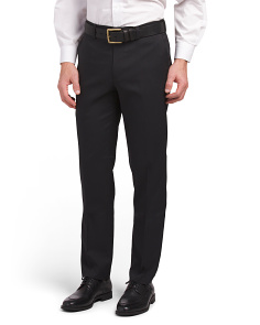 Slim Fit Stretch Herringbone Pants