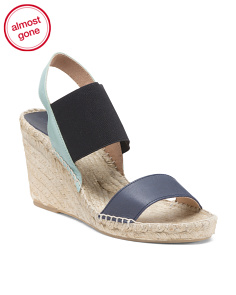 Made In Spain Espadrille Wedge Sandals