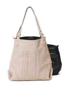 2pc Tote With Crossbody