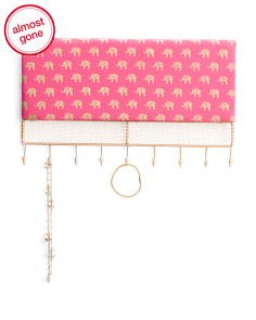 Elephant Wall Jewelry Organizer